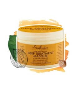 Shea moisture masque raw Shea Butter deep treatment- Available now in EgyptMade in USA ??,ماسك علاج الشعر التالف والجاف