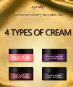 EYENLIP Cream Collagen - Snail - Black snail - Salmon