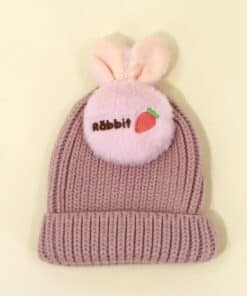 Shein Toddler Kids Ear Design Beanie