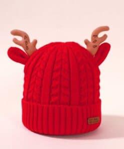 Shein Baby Christmas Knit Beanie