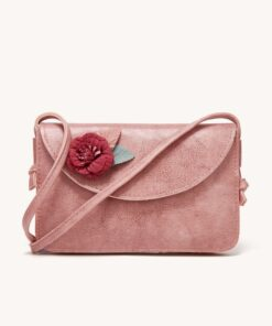 Shein Flower Appliques Crossbody Bag