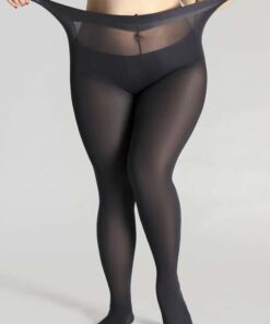 Shein 300D Sheer Plus Size Tights