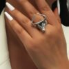 Shein Bull Head Design Ring
