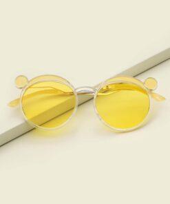 Shein Toddler Kids Ear Decor Sunglasses