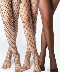SHEIN 3pairs Fishnet Mesh Tight