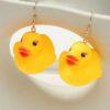 Shein Duck Drop Earrings