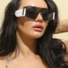 Shein Flat Top Tinted Lens Sunglasses