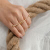 Shein Knot Decor Ring 1pc