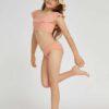 SHEIN Girls Ruffle Bikini Swimsuit