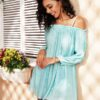 Shein Frill Cold Shoulder Cover Up