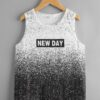SHEIN Boys Letter & Ombre Graphic Tank Top