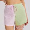 SHEIN Two Tone Shorts Without Belt