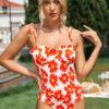 SHEIN Floral Frill Trim Cami Bodysuit