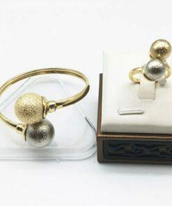 Chinese gold bracelet & Ring