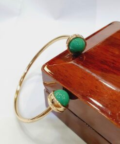 Chinese Gold Green Bracelet (Copy)