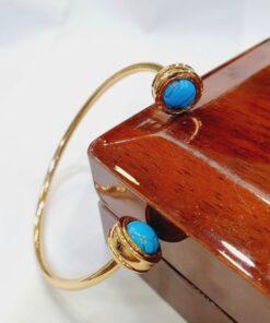 Chinese Gold Blue Bracelet (Copy)