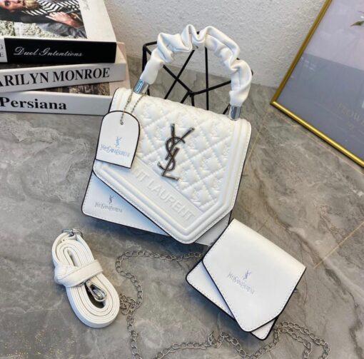Yves Saint Laurent Bag white