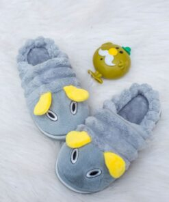 Bee fluffy slippers
