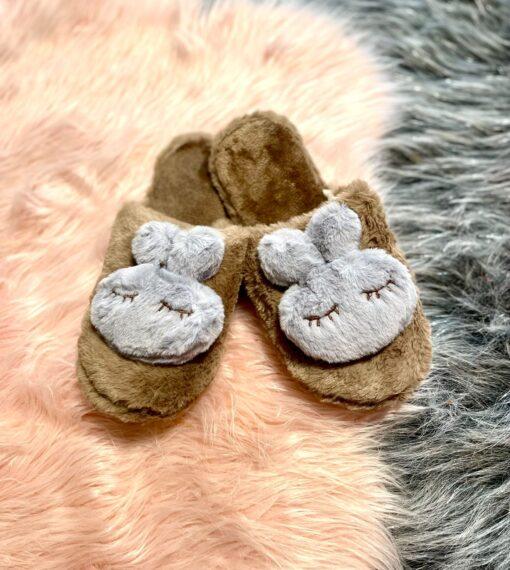 Fluffy Bunny slippers