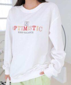 Shein DAZY Slogan Embroidery Drop Shoulder Pullover